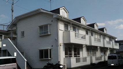 さいたま市北区の集合住宅、外壁塗装・屋根塗装工事前の写真