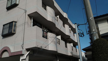 さいたま市北区の集合住宅、大規模修繕工事前の写真
