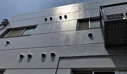 志木市の集合住宅アパート、塗装工事完了の写真