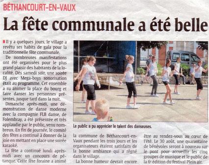 Article : l'Aisne Nouvelle.