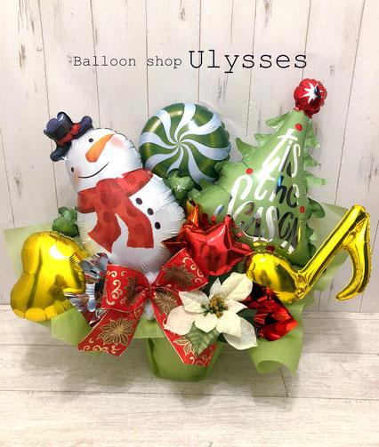 クリスマスプレゼント パーティー バルーン つくば市バルーンショップユリシス バルーンアート バルーンギフト