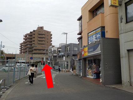三浦霊園,無料送迎バス,待合所,交差点