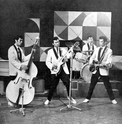 The Tielman Brothers. Dutch TV Show (AVRO) 23rd. January 1960