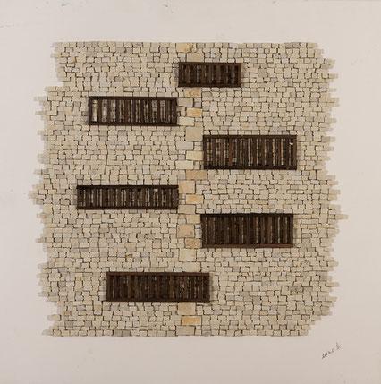 Quadro scultura - Mosaico moderno  - Mosaico contemporaneo