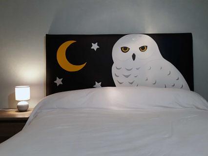 Tête de lit personnalisée-sur mesure-déco chambre enfant
