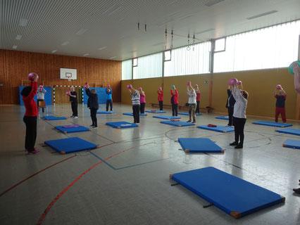 Foto Fitness für Erwachsene - Ball-Gymnastik