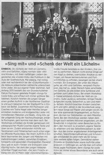 Einbecker Morgenpost vom 31.Mai 2019