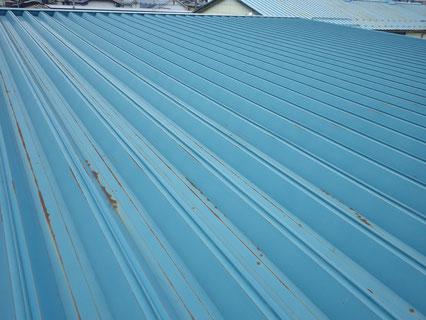 花巻市屋根塗装前