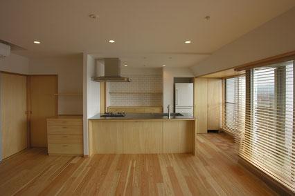 吉武聖建築設計事務所:草薙のマンションフルリノベーション 画像