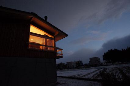 上越春日山の家 スケッチの画像