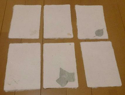 """3日後、無事に""""作品""""が届きました。軽くて柔らかくて優しい紙。和紙、良いです!"""