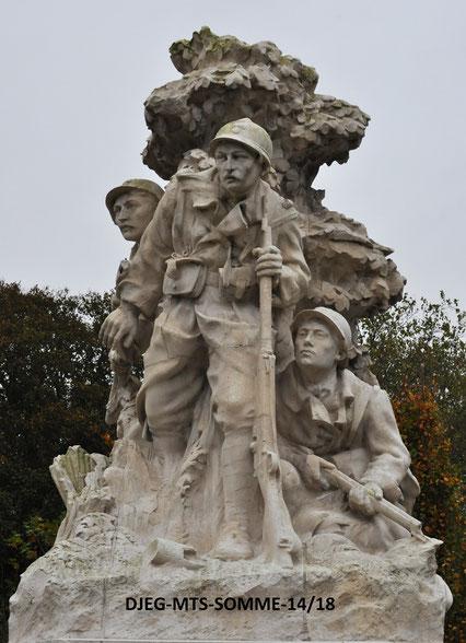 """Abbeville - """"Les Patrouilleurs"""" - Louis-Henri Leclabart"""