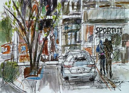 茅ヶ崎市・一中通りのスポーティフ カフェ(SPORTIFF CAFE)