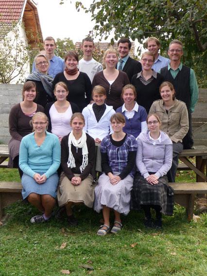 Die deutschen Mitarbeiter (Herbst 2010)