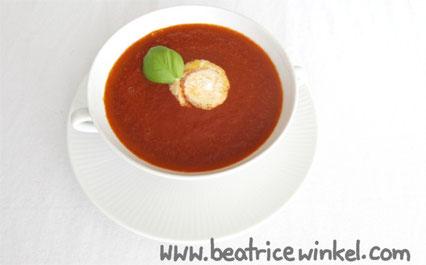 Beatrice Winkel - Tomaten-Himbeer-Suppe