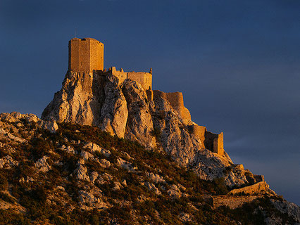 Le Chateau cathare de Queribus