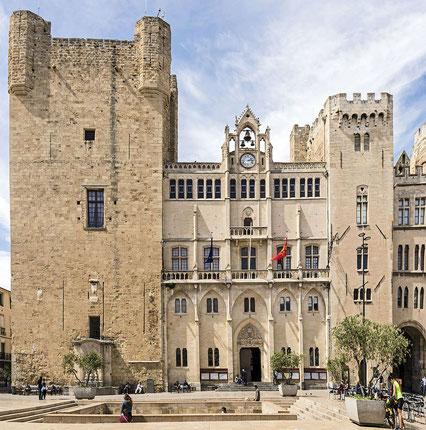 Le Palais des Archevêques à Narbonne