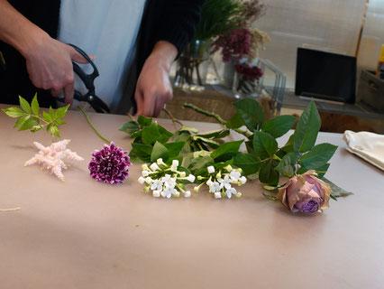 リフトは品質や鮮度にこだわって厳選した花のみを仕入れているそう