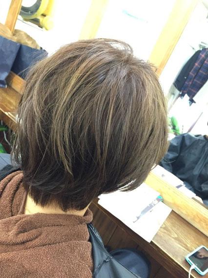 横浜・美容室☆カラーで髪を育てる