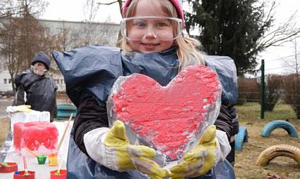 party-eis.com: Eismeißeln, eismeisseln mit Kindern für Kita und Schule