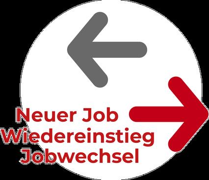 Neuer Job, Wiedereinstieg, Jobwechsel