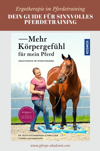 Mehr Körpergefühl für mein Pferd! Ergotherapie im Pferdetraining. Dein Guide für SINNvolles Pferdetraining