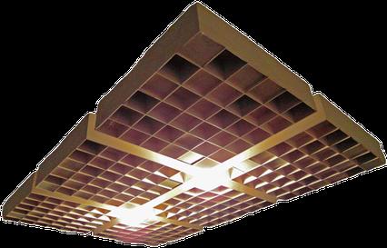 2-D Diffusor Akustik Decke Akustikmodul