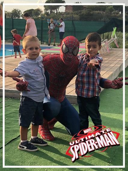 Festa a tema Spiderman roma