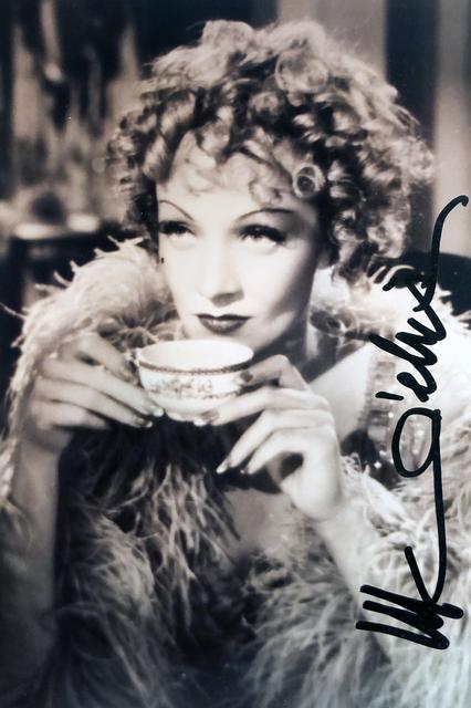 Autograph Marlene Dietrich Autogramm