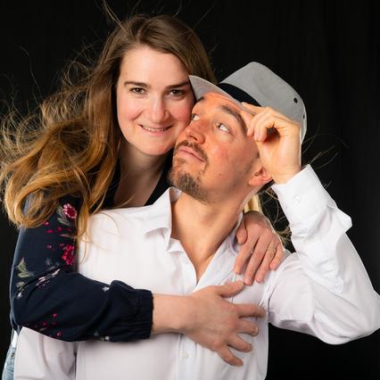 Paar-Shooting, Freundschafts-Fotos