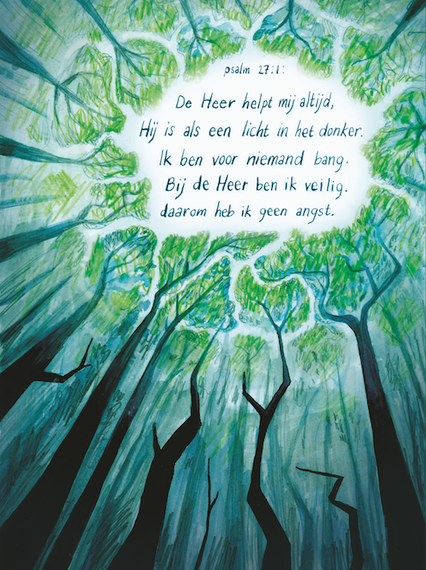Illustratie bij Psalm voor programmablad Visie 2020