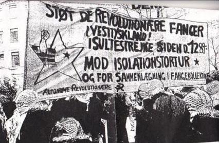 Den venstreradikale, rådsocialistiske gruppe 'Autonome Revolutionære'