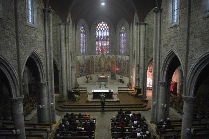 Choeur de l'église Saint Thuriau à Landivisiau