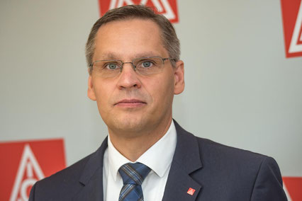 Thorsten Gröger, Bezirksleiter IG Metall Niedersachsen und Sachsen-Anhalt