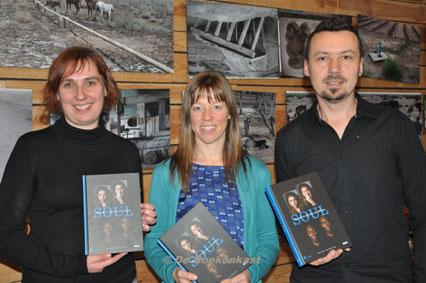 Kirsten Pauwels, Inge Vanoverschelde en Pieter Clicteur