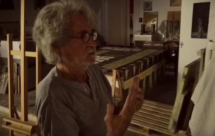 vague(s) magazine pureplayer, intuitif et évolutif : rencontre avec Leon Diaz Ronda, artiste peintre à Narbonne