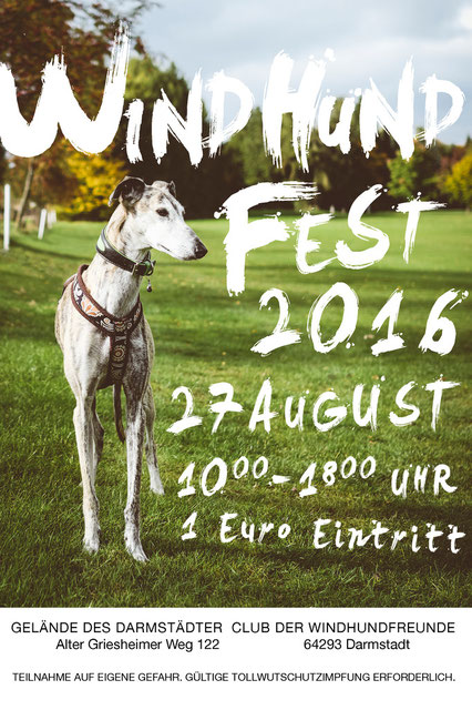 Windhundfest in Darmstadt 2016
