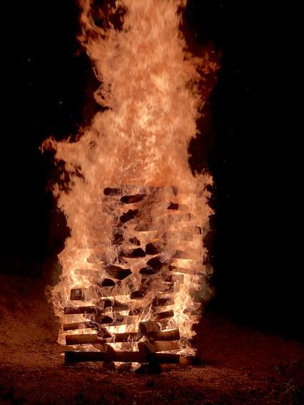 Luthern Bad, Feuerlaufen Ritual von Beat Gerber, Sept. 19