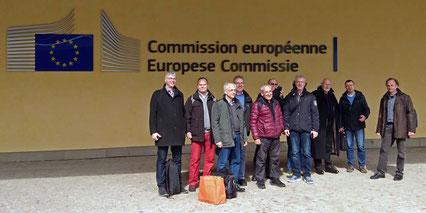 Vertreter der Werra-Weser-Anrainerkonferenz e.V. sowie verschiedener Bürgerinitiativen aus Deutschland und Spanien haben die Umweltexperten der EU-Kommission kürzlich über die immensen Umweltgefahren durch Kaliproduktion und Kalihalden informiert.