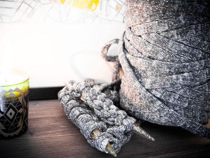 Wooltwist.de-Stricken mit Textilgarn Noodles