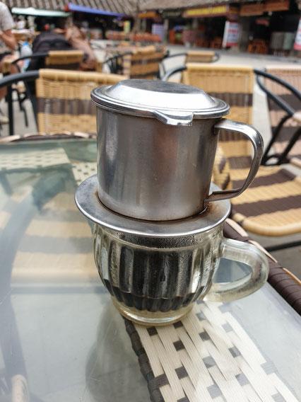 Kaffee in Dong Van