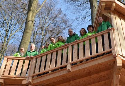 Team Baumhaushotel Solling
