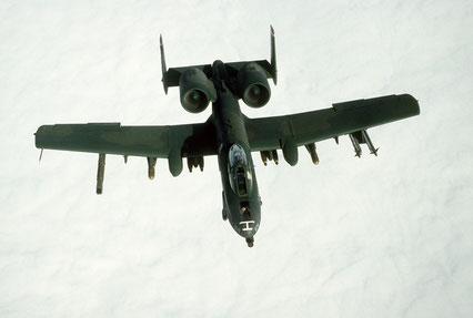 A-10 Thunderbolt II 706Th Squadron durante l'Op. Desert Storm Source:USAF