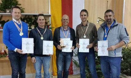 v.l.n.r.: Kirchner Stephan, Striedinger Kurt, IM Aschbacher Hansjürg, Peball Gottfried, Genser Helmut
