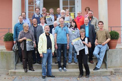 Gemeinsam erarbeiten viele Rehburg-Loccumer das Stolperstein-Projekt für ihre Stadt.