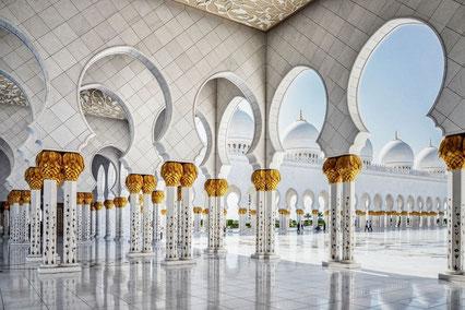 Sheik-Zayed-Moschee in Abu Dhabi