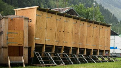mobile Toilette, Festival WC, Kompotoi, Komposttoilette