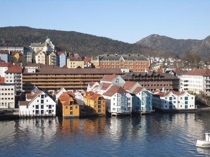 Im Hafen von Bergen am 8.5.2010
