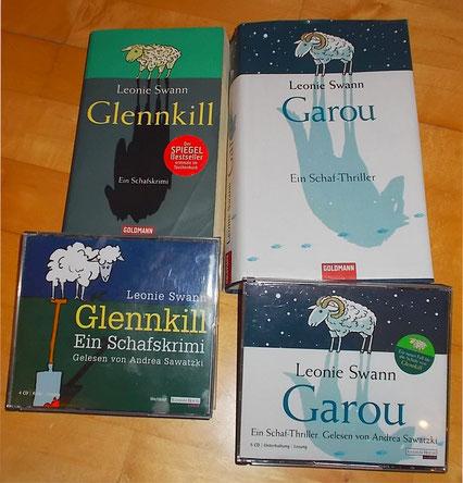 Lese-und Hörbuchtipp Glennkill und Garou