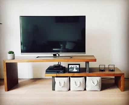 Industrieel Tv meubel op maat te Heerde